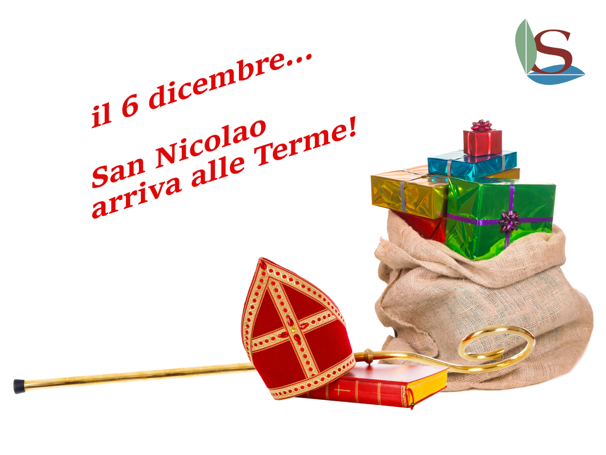 San Nicolao arriva alle Terme...